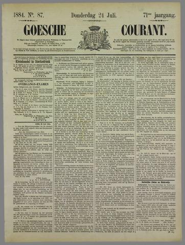 Goessche Courant 1884-07-24