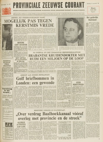 Provinciale Zeeuwse Courant 1972-11-11
