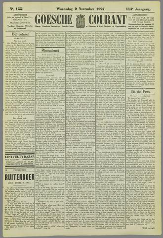 Goessche Courant 1927-11-09