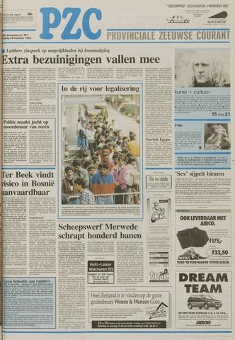 Provinciale Zeeuwse Courant 1992-10-23