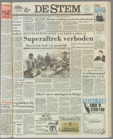 de Stem 1985-01-22