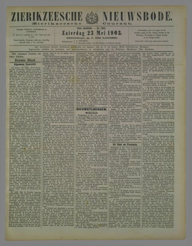 Zierikzeesche Nieuwsbode 1903-05-23