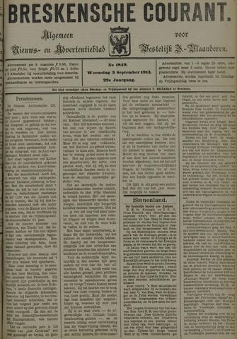 Breskensche Courant 1913-09-03