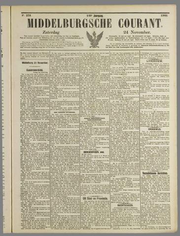 Middelburgsche Courant 1906-11-24