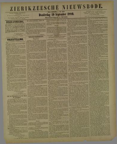 Zierikzeesche Nieuwsbode 1889-09-19