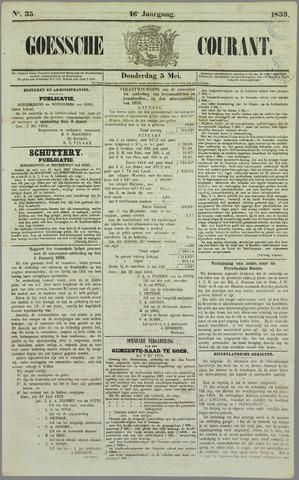 Goessche Courant 1859-05-05
