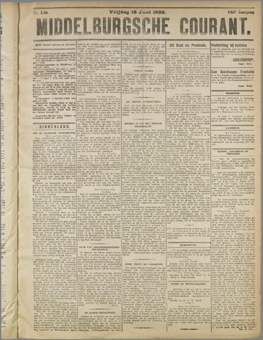 Middelburgsche Courant 1922-06-16