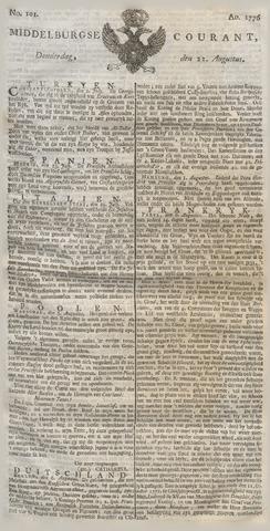 Middelburgsche Courant 1776-08-22