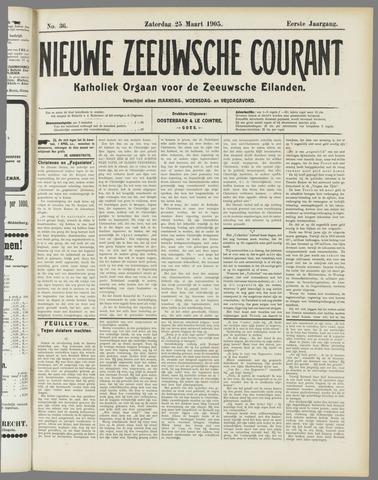 Nieuwe Zeeuwsche Courant 1905-03-25