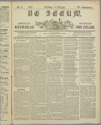 De Zeeuw. Christelijk-historisch nieuwsblad voor Zeeland 1912-10-04