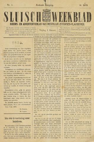 Sluisch Weekblad. Nieuws- en advertentieblad voor Westelijk Zeeuwsch-Vlaanderen 1875