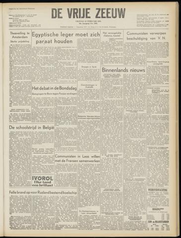 de Vrije Zeeuw 1955-02-25