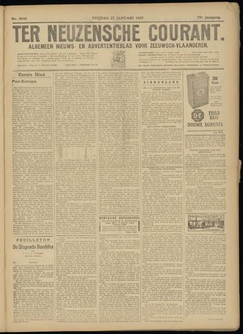 Ter Neuzensche Courant. Algemeen Nieuws- en Advertentieblad voor Zeeuwsch-Vlaanderen / Neuzensche Courant ... (idem) / (Algemeen) nieuws en advertentieblad voor Zeeuwsch-Vlaanderen 1933-01-27