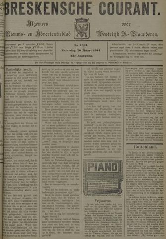 Breskensche Courant 1914-03-28