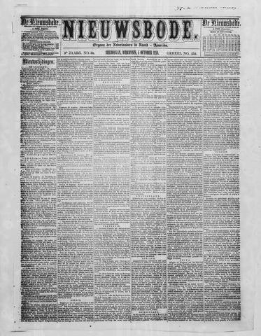 Sheboygan Nieuwsbode 1858-10-05