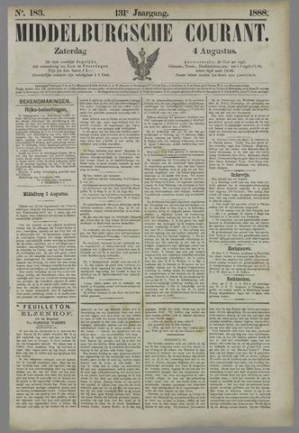 Middelburgsche Courant 1888-08-04