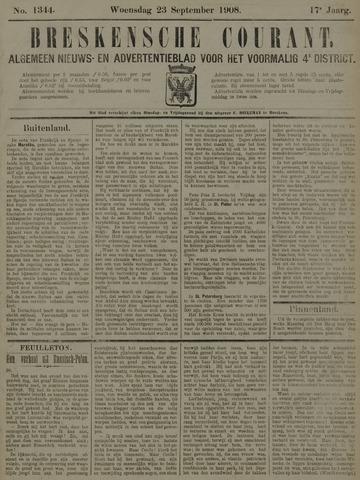 Breskensche Courant 1908-09-23