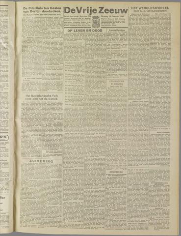 de Vrije Zeeuw 1945-02-13