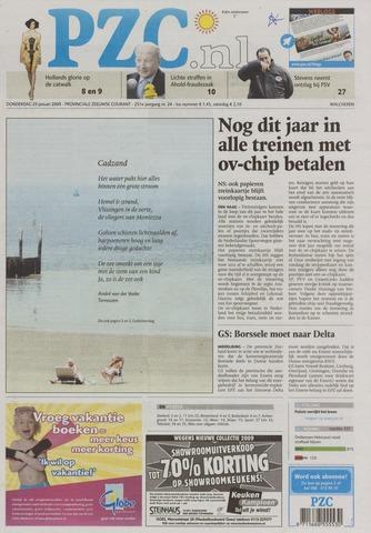Provinciale Zeeuwse Courant 2009-01-29
