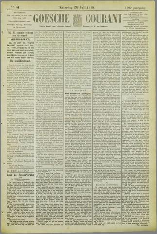 Goessche Courant 1919-07-26