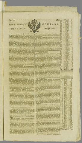Middelburgsche Courant 1805-04-30