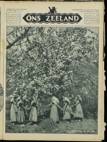 Ons Zeeland / Zeeuwsche editie 1934-04-27