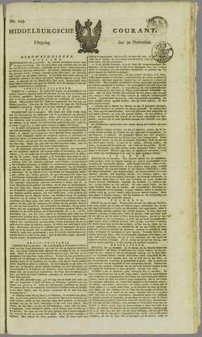 Middelburgsche Courant 1824-11-30