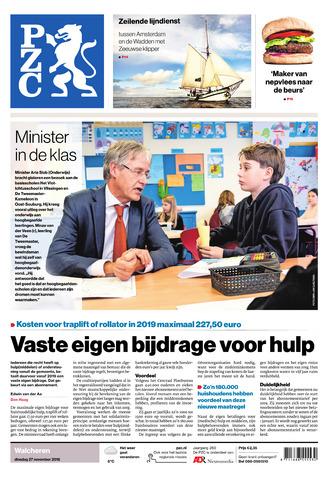 Provinciale Zeeuwse Courant 2018-11-27