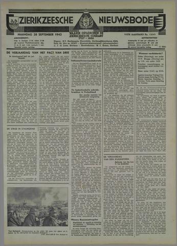 Zierikzeesche Nieuwsbode 1942-09-28
