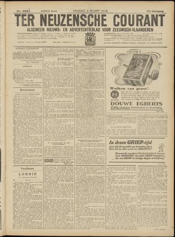 Ter Neuzensche Courant. Algemeen Nieuws- en Advertentieblad voor Zeeuwsch-Vlaanderen / Neuzensche Courant ... (idem) / (Algemeen) nieuws en advertentieblad voor Zeeuwsch-Vlaanderen 1939-03-03