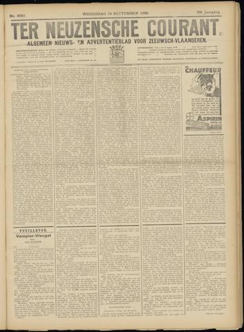 Ter Neuzensche Courant. Algemeen Nieuws- en Advertentieblad voor Zeeuwsch-Vlaanderen / Neuzensche Courant ... (idem) / (Algemeen) nieuws en advertentieblad voor Zeeuwsch-Vlaanderen 1930-09-24