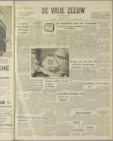 de Vrije Zeeuw 1960-07-06