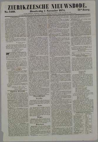 Zierikzeesche Nieuwsbode 1874-11-05