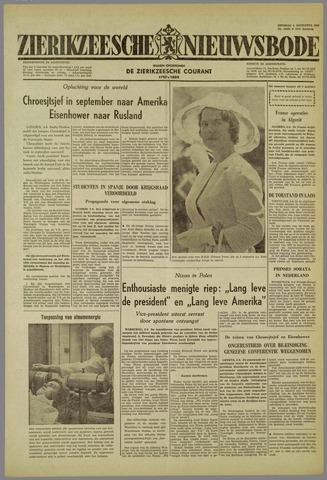 Zierikzeesche Nieuwsbode 1959-08-04