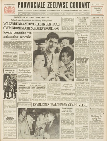 Provinciale Zeeuwse Courant 1964-10-24