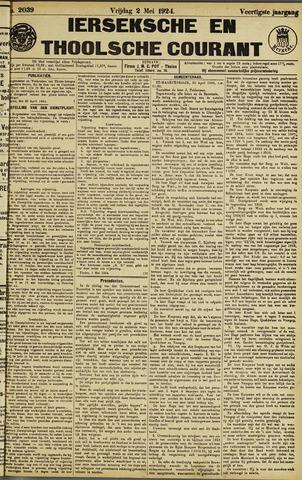 Ierseksche en Thoolsche Courant 1924-05-02