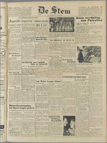 de Stem 1947-09-30