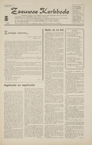 Zeeuwsche kerkbode, weekblad gewijd aan de belangen der gereformeerde kerken/ Zeeuwsch kerkblad 1968-07-18