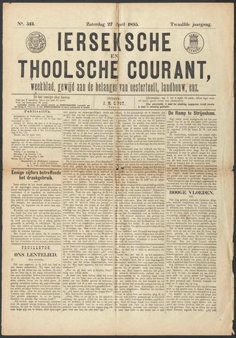 Ierseksche en Thoolsche Courant 1895-04-27