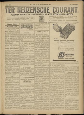 Ter Neuzensche Courant. Algemeen Nieuws- en Advertentieblad voor Zeeuwsch-Vlaanderen / Neuzensche Courant ... (idem) / (Algemeen) nieuws en advertentieblad voor Zeeuwsch-Vlaanderen 1931-11-23
