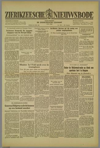 Zierikzeesche Nieuwsbode 1952-04-22