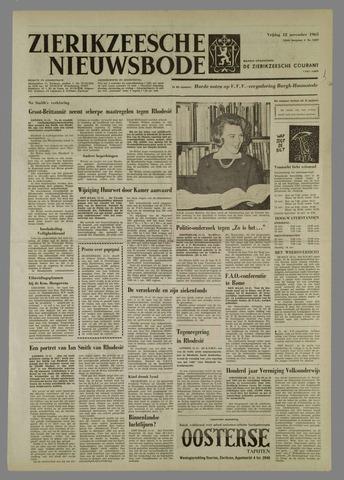 Zierikzeesche Nieuwsbode 1965-11-12
