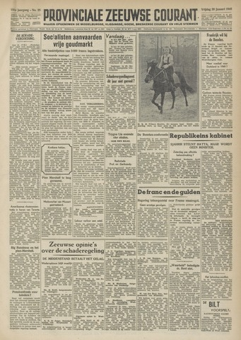 Provinciale Zeeuwse Courant 1948-01-30