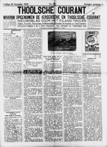 Ierseksche en Thoolsche Courant 1943-11-19