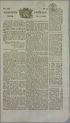 Goessche Courant 1826-10-02