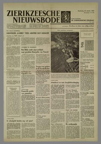 Zierikzeesche Nieuwsbode 1963-10-24