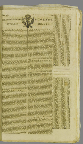 Middelburgsche Courant 1807-05-09