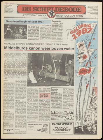 Scheldebode 1986-12-30