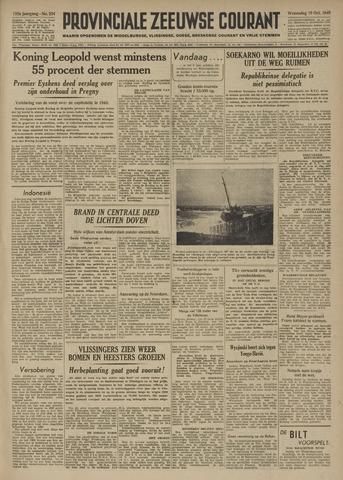 Provinciale Zeeuwse Courant 1949-10-19