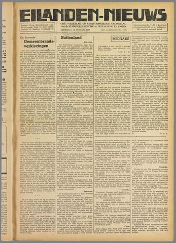 Eilanden-nieuws. Christelijk streekblad op gereformeerde grondslag 1949-01-15